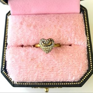 Juicy Couture Heart Wish Ring